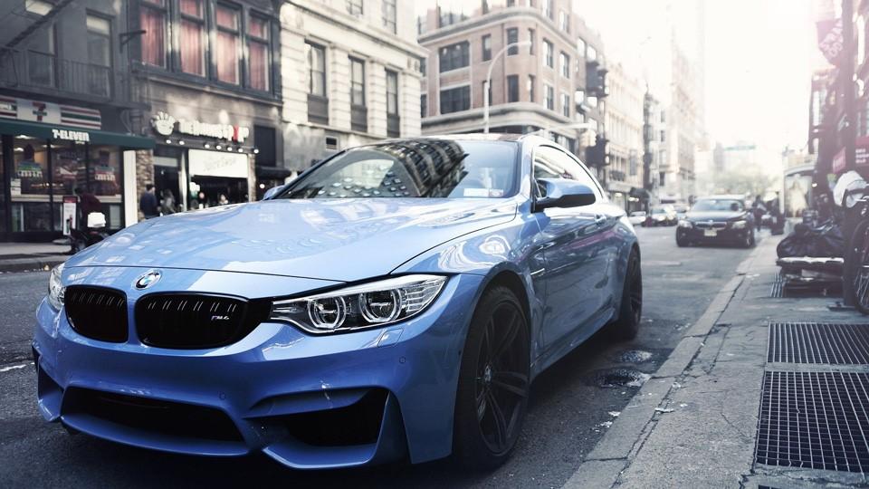 ドイツ車BMWクーペ