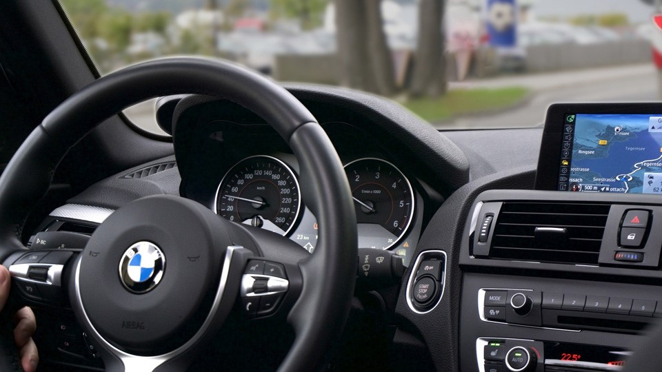 ドイツ車BMWの内装
